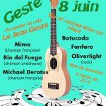 Gesté (49) Pays de la Loire (juin 2018)